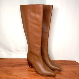 SAM EDELMAN Lindsey Western Boots